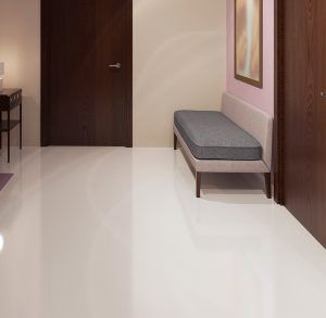 Design of spacious minimalist hallway