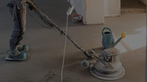 Concrete contracting and polishing sand and cement screed floor